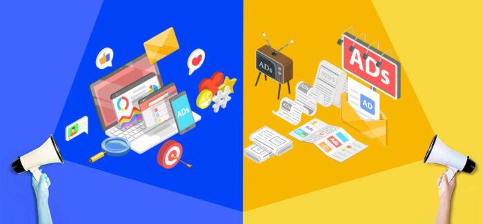 Traditional vs. Digital Marketing